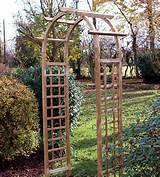 omega top arch with seat garden arbour trellis arch arbour arch
