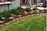 Garden - decorative edging.