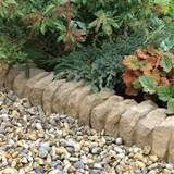 ... Ideal Stone Garden Edging Ideas : Decorative Garden Edging Ideas