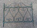 ... French Metal Decorative Garden Pathway Border Edging Panel | eBay