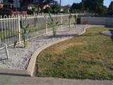 Concrete Garden Edging Gallery
