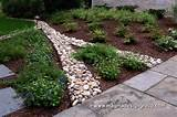 ... Outstanding Stone Landscape Edging Ideas : Concrete Landscape Edging