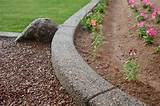 ... The Nice Concrete Landscape Edging Molds : landscape edging home depot