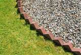 brick garden edging made easy