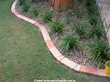 clay paver brick edge garden edges lawn edges garden edging