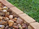 how to install garden edging