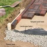 installing brick edging