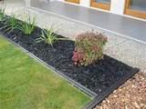 recycled plastic garden edging