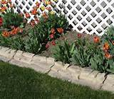 Curbing ROX Garden Edging Flat Garden Edging Scalloped Garden Edging ...