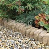 ... Yard Landscape , 6 Hottest Garden Edging Stone : Garden Edging Ideas