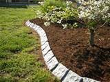 ideas garden edging stone garden edging 02 design and landscaping