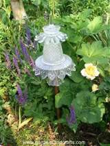 Glass Garden Totems from D & G Gardens and Crafts: