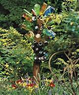 DIY Eclectic art addition to the garden you can craft with relative ...
