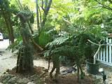 garden art glass garden art polynesian statue