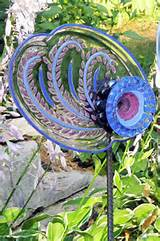 art sculpture for garden or yard sold on etsy by glassblooms 35 00