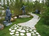 of decoration with metal garden sculptures metal garden art image