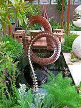 metal garden art the coluna