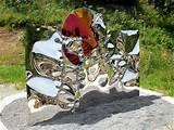 gahr garden sculpture metal design