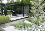 modern garden with unique design modern garden with unique design