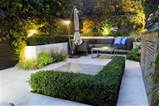 beautiful small modern garden design ideas with modern patio furniture