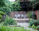 17 046 mid century modern garden home design photos