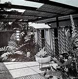 Mid Century Modern Garden Design Eames Era Architecture Vintage Sunset ...