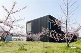 japanese peach garden home blends tradition with modern develo