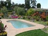decoration pool landscaping ideas simple pool landscaping ideas for