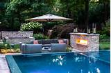 pool landscaping ideas by cipriano landscape design bergen county