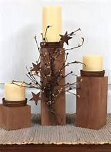 primitive decor country candle holders outdoor by floralsfromhome 85