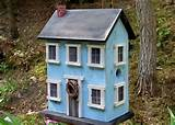 folk art rustic country primitive saltbox home decor garden folk art