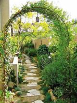 trellis flower garden Distinctive Flower Garden Design And Style ...