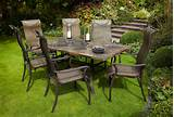 hartman palermo 1 8m rectangular roma set metal garden furniture