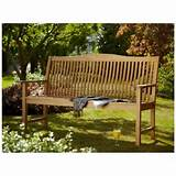 Hartman Beckbury 2 Seater Hardwood Bench