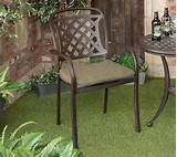you may wish to view hartman amalfi bistro set metal garden furniture