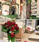 Rustic & Charmed Garden Wedding Décor