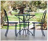 Types of Wrought Iron Garden Furniture