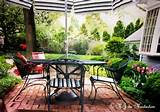 wrought iron furniture in the garden or on the patio is much more