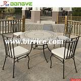... Antique Wrought Iron Outdoor Furniture / China Garden Sets for sale