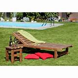 Wooden garden furniture PROWOOD made of THERMOWOOD - SET V1