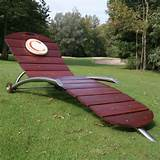 Tags: Contemporary Exotic Wood Outdoor Furniture Set by Calanc