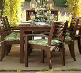 how to look after wooden garden furniture