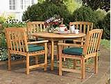 wooden garden furniture restoration