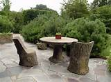 stylish wooden garden furniture