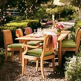 wooden outdoor garden furniture can come in different types of wood it ...