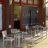 Oxford Garden Travira 36 in. Patio Bistro Set modern patio furniture ...