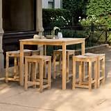 Oxford Garden Hampton Balcony Dining Set traditional patio furniture ...