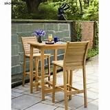 ... , Patio Furniture, Dartmoor 3 Piece Bar Dining Set by Oxford Garden