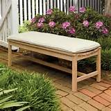 oxford garden backless bench modern patio furniture and outdoor