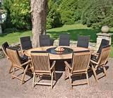oxford 10 recliner teak garden furniture set by bramblecrest